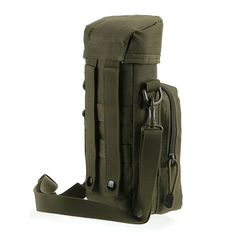RESCUER Waterproof Nylon Bottle Pouch Molle kettle package canteen pouches Outdoor Watter Bottle bag