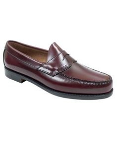 Bass Logan Weejuns Flat Strap Penny Loafers