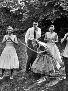 It's Friday! It's Retro Revelry Day! Please tell me they are shooting at an archery target and not another party guest!?!
