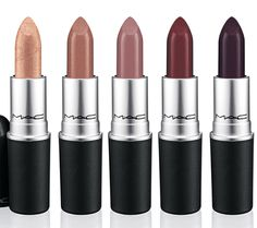 lipsticks from the MAC Indulge Collection for Fall 2013