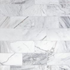 Floor and Decor marble stone tiles give your home a timeless and elegant appeal. We offer over 400 marble flooring styles so you can make a statement that will last an eternity. Marble Tile Bathroom, Marble Mosaic, Carrara Marble, Room Tiles, Wall Tiles, Subway Tiles, White Bathroom Interior, White Bathrooms, Dream Bathrooms
