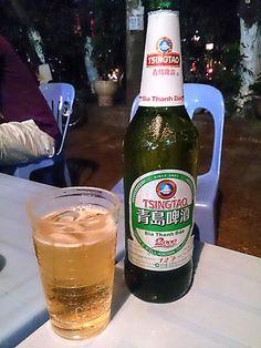 Tsingtao Beer , Hanoi , Vietnam