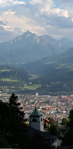 Innsbruck, Austria- I visited here when I was 17. It's beautiful.
