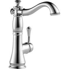 Cassidy Single Handle Deck Mounted Bar Kitchen Faucet by Delta