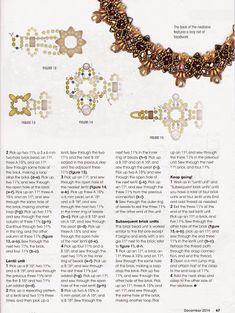 Bead & Button Dec 2014 (p 67) Designer: Materials: