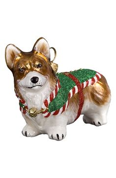 Joy to the World Collectibles 'Santa's Little Yelper' Dog Ornament available at #Nordstrom