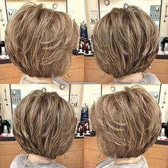97 Awesome Short Layered Haircuts Fine Hair In Pin On Hair, 50 Best Trendy Short Hairstyles for Fine Hair Hair Adviser, 33 Cute Short Layered Haircuts for Beautiful Women In 40 Short Hairstyles for Fine Hair. Bob Hairstyles For Fine Hair, Haircut For Thick Hair, Haircut Short, Modern Hairstyles, Latest Hairstyles, Braided Hairstyles, Short Hairstyles For Women, Swing Bob Haircut, Flip Hairstyle