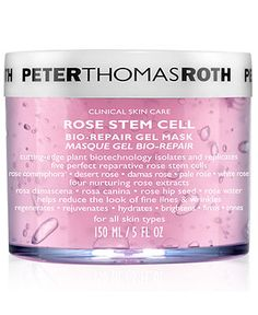 Peter Thomas Roth Rose Repair Gel Mask, 5 oz - Skin Care - Beauty - Macy's