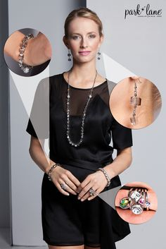 Add a sparkle to any outfit with Foursquare set! #fallfashion #parklanejewelry