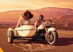 Beware of the Harley dogs (medium)