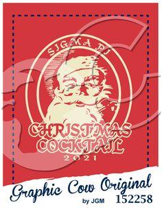 Christmas Cocktail Sigma Pi Santa Claus winter #grafcow