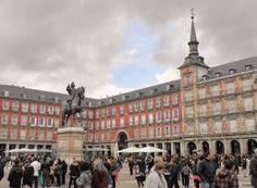 Estatua ecuestre de Felipe III en la Plaza Mayor de Madrid