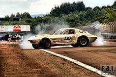 Corvette C2, Corvette Grand Sport, Chevrolet Corvette, Chevy, Sports Car Racing, Road Racing, Race Cars, Auto Racing, Types Of Races