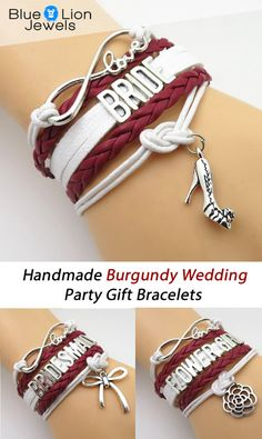 Don't Miss our 50% Off Sales Event! Perfect gift idea for the Burgundy theme Wedding bridal party. Bride, Bridesmaid, Maid of Honor, Bride Mother, Groom Mother and Flower Girl.