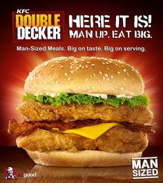 KFC Philippines 'Double Decker' now available in the Philippines