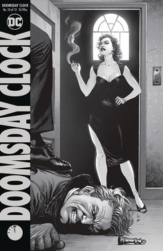 """Best of this Week: Doomsday Clock - Geoff Johns, Gary Frank, Brad Anderson and Rob Leigh And yet another wrinkle is added to the DC Universe. Or should I say, """"Metaverse"""" now? Beast Boy, Comic Book Covers, Comic Books Art, Book Art, Dc Comics, Read Comics, Manhattan, Doomsday Clock, Wally West"""
