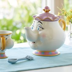 Mrs. Potts Teapot - Beauty and the Beast | shopDisney