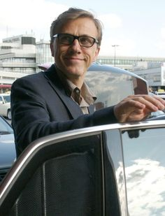 Photo of Christoph Waltz  - car