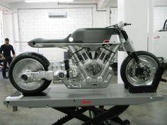 Vanguard Roadster Motorcycle Debut at New York IMS   Motorcyclist