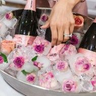 floral ice cube bridal shower decorations