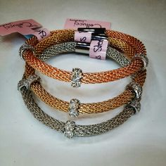 Stainless steel bracelets ♡♡ Cellucci jewellery-fashion