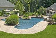 Amazing Backyard Landscapes for Small and Large Yards: Backyard Landscapes Pool Design – BS2H