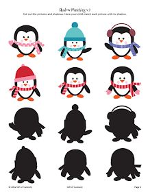 Winter Printables Pack with more than 70 winter activities for kids! - Gift of Curiosity Winter Activities For Kids, Winter Crafts For Kids, Toddler Activities, Artic Animals, Preschool Themes, Winter Theme, Pre School, Curiosity, Circle Time