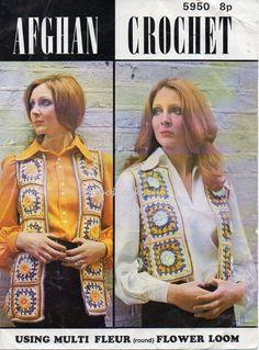 Womens CROCHET PATTERN pdf Womens Crochet Waistcoat by Hobohooks