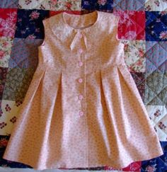 The Lilah Dress.I need this in an adult size!You have to see The Lilah Dress on Craftsy!Inspiration for the Oliver + S Building Block Dress sewing book.new look 6884 Girls Frock Design, Kids Frocks Design, Baby Frocks Designs, Baby Dress Design, Girls Dresses Sewing, Dresses Kids Girl, Little Dresses, Dress Sewing, Sewing Coat