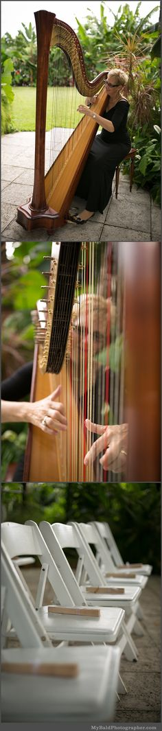 Cecilia Madison-Sundy House-Delray Beach with Florida Harpist Esther Underhay