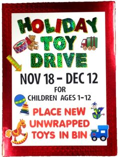 How to make a holiday toy drive poster Food Drive Flyer, Fundraising Poster, Drive Poster, Christmas Toys, Christmas Posters, Xmas, Toys For Tots, Flyer Template, Poster Templates