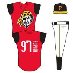 Pittsburgh Pirates Alternate Uniform (1999) -
