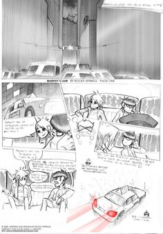 MURPHY'S LAW page 1 by rockysprings on DeviantArt A wonderful comics in only 35 pages that you should definitely try if you like Gorillaz :)