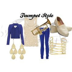 """Trumpet Style"" by wolfe30 on Polyvore"