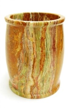 Multi Green Onyx Bathroom Waste Basket. This waste basket of design series 700 collection is an accessory for the seven piece bathroom set made in this design and available here on our website. You can purchase this waste basket as an accessory or as an individual piece for you use.