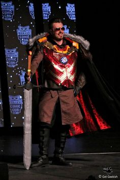 Lord Tony Stark of Winterfell - 2017 Denver Comic Con Cosplay Classic     Game of Thrones, Iron Man, Mashup