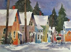 Jinnie May, Rockland, Maine in Winter II