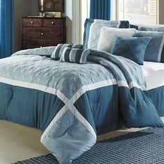 Quincy 8-piece comforter set, Kohl's