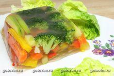 Холодец овощной