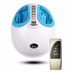 220V Electric Antistress 3D Shiatsu Kneading Air Pressure Foot Massager Infrared Foot Care Machine Heating  #FootMassager