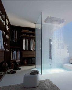 Casa de banho para o quarto