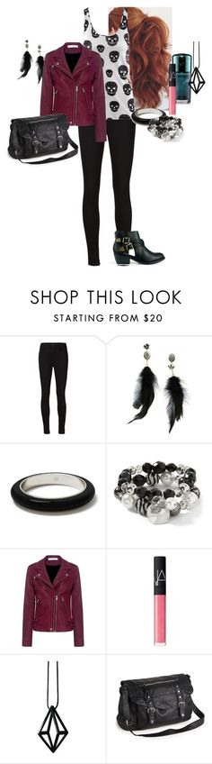 """""""Arden Anderson - Clip Show (S08E22)"""" by katlayden ❤ liked on Polyvore featuring J Brand, Betsey Johnson, Banana Republic, White House Black Market, IRO, NARS Cosmetics, Stephanie Bates and Aéropostale"""
