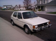 13. 1982 VW Rabbit (This car is one we bought and didn't keep for very long. It had almost 300,000 miles on it.)