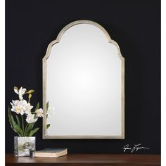 Uttermost Braden Petite Mirror & Reviews | Wayfair