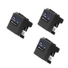N 3 PK LC10EBK XXL Compatible Ink Cartridge For Brother MFC-J6925DW Printer