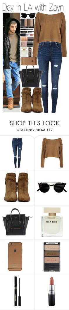 """#Day in LA with Zayn"" by didi-horan ❤ liked on Polyvore featuring Miss Selfridge, Yves Saint Laurent, Narciso Rodriguez, Wet n Wild, Napoleon Perdis, MAC Cosmetics, Laura Mercier, Forum and zaynmalik"