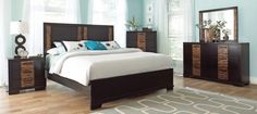 Shop Dominic Contemporary Charcoal Grey Wood Master Bedroom Set with great price, The Classy Home Furniture has the best selection of to choose from Master Bedroom Set, 5 Piece Bedroom Set, King Bedroom Sets, Queen Bedroom, Modern Bedroom, Bedroom Furniture Stores, Furniture Deals, New Furniture, Coaster Fine Furniture