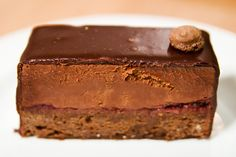 L.A. Burdick Chocolate Mousse Cake