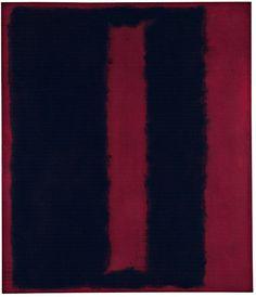 Mark Rothko, Black on Maroon, 1959
