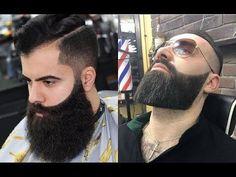 13 Novos Estilos de Fade Cabelo e Barba Pra se Inspirar 2017 Bad Beards, Great Beards, Awesome Beards, Trimmed Beard Styles, Beard Styles For Men, Hair And Beard Styles, Hipster Haircuts For Men, Hipster Hairstyles, Beard Cuts